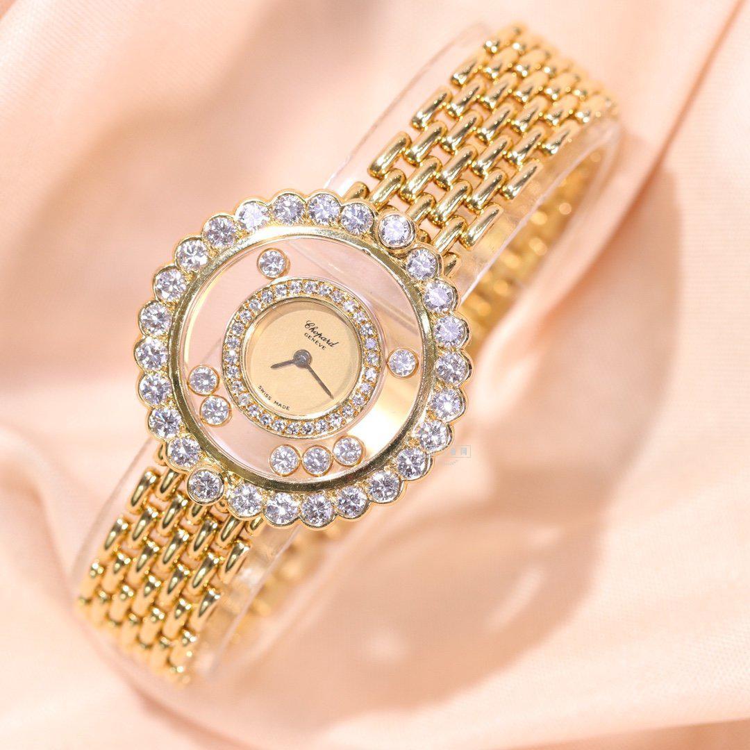 深圳萧邦HAPPY DIAMONDS系二手手表回收价格如何?